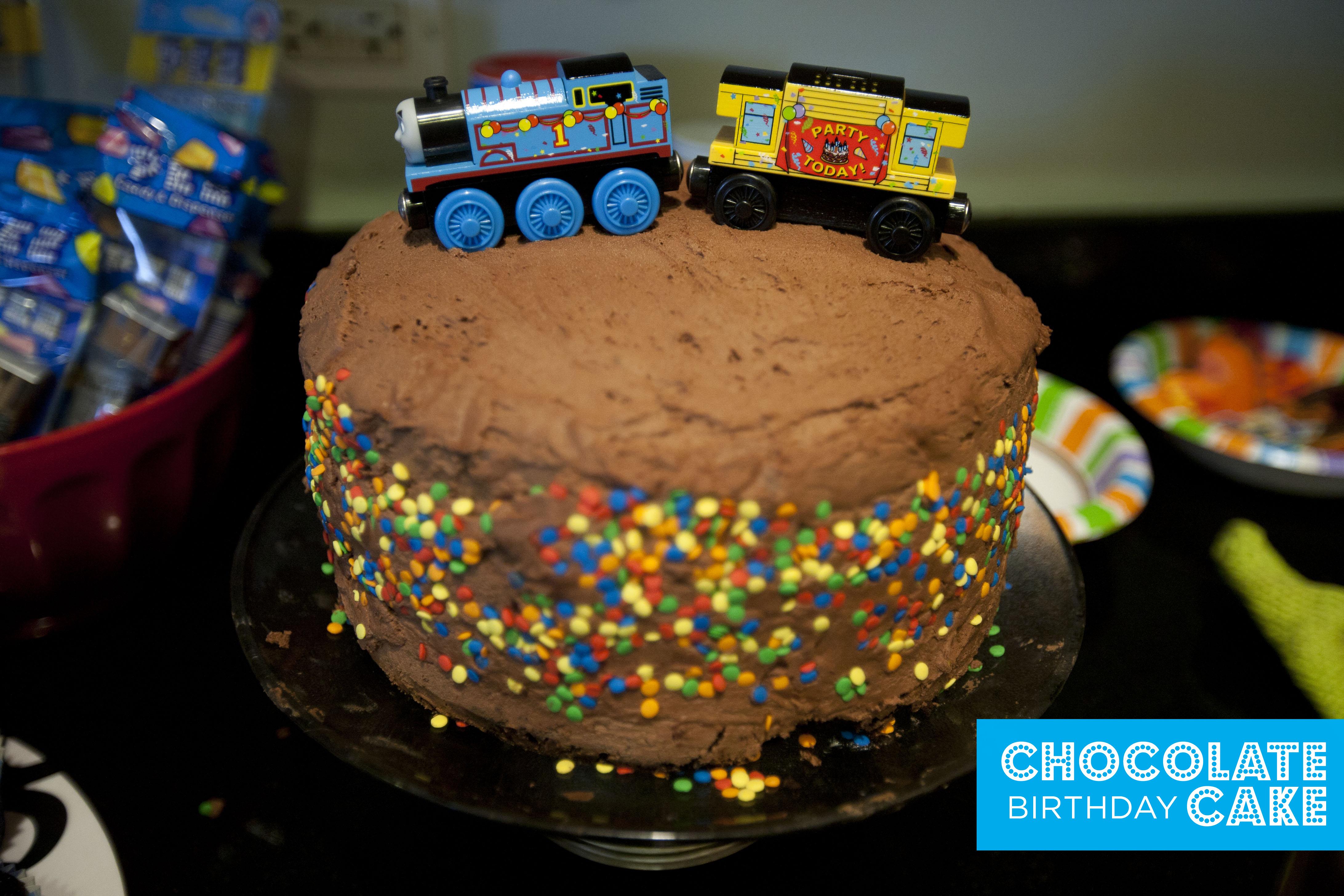 thomas the train make great on chocolate train birthday cake recipe