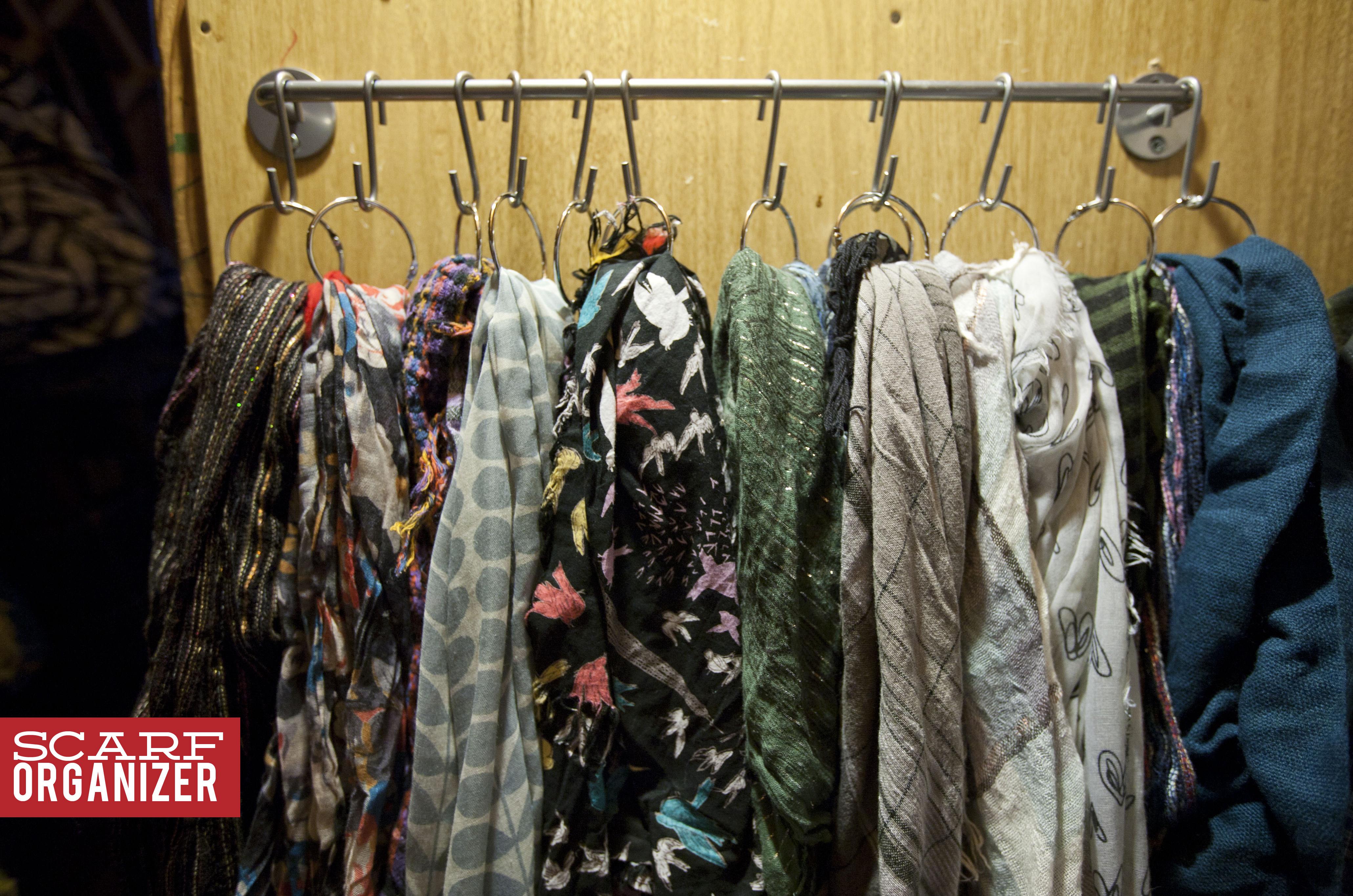 152 scarf organizer make great for Scarves hanger ikea