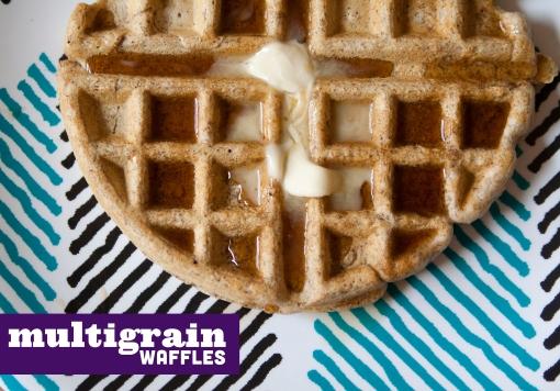 168. multigrain waffles