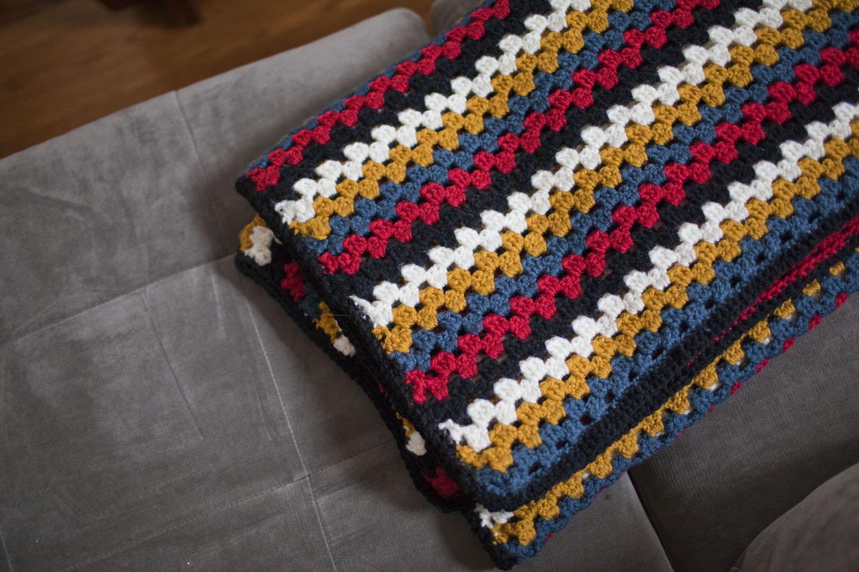 Granny Stripe Blanket Pattern Awesome Decorating Design