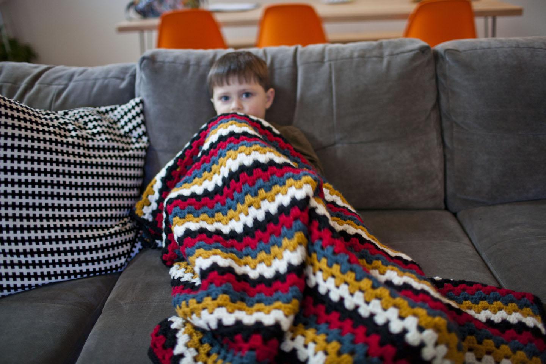 Granny Stripe Blanket Pattern Interesting Decorating