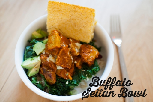 BuffaloSeitanBowl