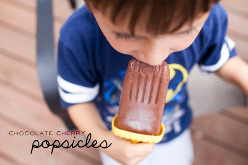 chocolatecherrypopsicles