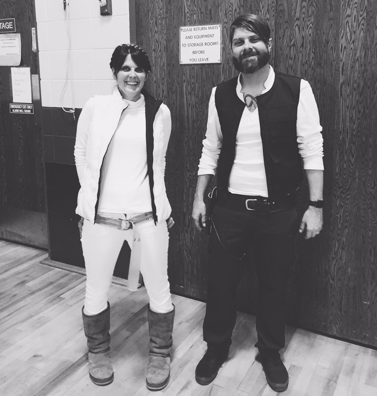 han and leia halloween costumes. Processed with VSCOcam with b2 preset  sc 1 st  make great - WordPress.com & han solo costume diy | make great